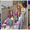 Hearing impaired special Students of Kise Mirpur AJk with their Handicrafts made with Oil Paints..
